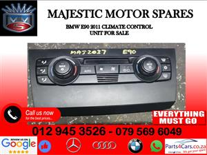 Bmw E90 climate control unit for sale