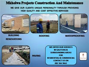 Mkholwa Projects Construction And Maintenance