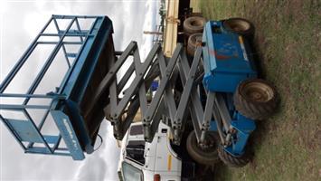 2002 Genie 3268RT Diesel Scissor Lift (12m) | Junk Mail