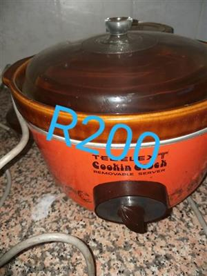 Tedelex slow cooker for sale