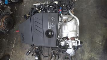116I N13 ENGINE FOR SALE BMW