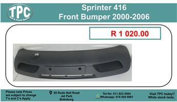 Sprinter 416 Front Bumper 2000-2006 For Sale.