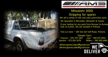 MITSUBISHI 3000I STRIPPING FOR SPARES