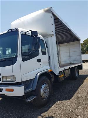 2008 Isuzu FTR800 Turbo Curtain side truck for sale