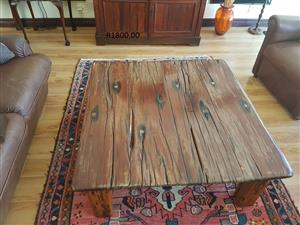 Sleeper wood Coffee Table