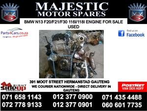 Bmw N13 F20 engine for sale