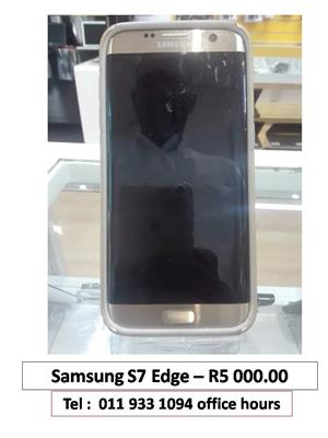SAMSUNG S7 EDGE LOOKING FOR R5000