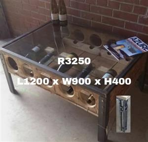 Wine holder table for sale