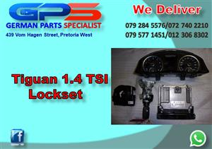 VW Tiguan 1.4 TSI Lockset for Sale
