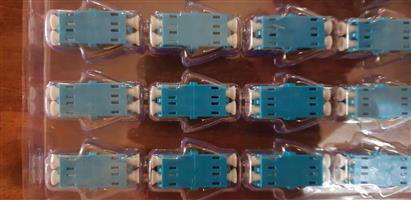LC -LC duplex sm adaptors