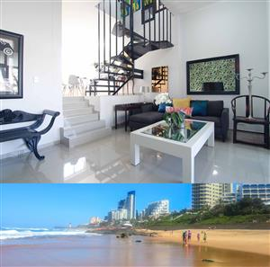 Umhlanga 5 sleeper garden apartment next to the Oyster Box Hotel from R999 per night