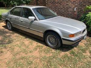 2000 BMW 7 Series 740i Individual