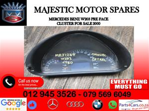 Mercedes benz W203 cluster for sale