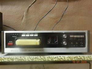 8 Track tape deck