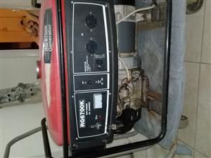GENERATOR FOR SALE GOOD COND 3YEARS OLD