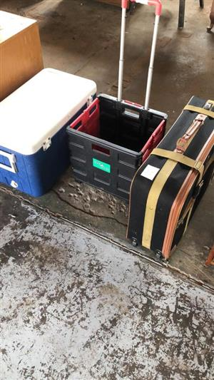 Travel cases and cooler box