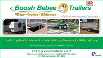 BOOSH BEBEE TRAILERS