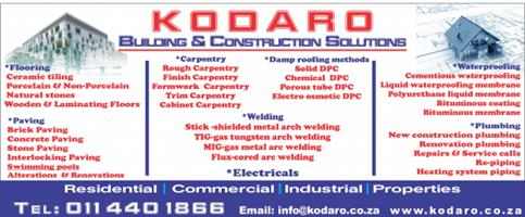 Construction company offering wide range of construction services