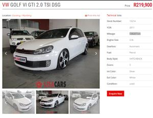 2011 VW Golf 2.0TDI Comfortline