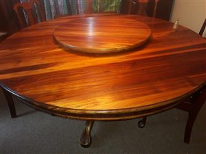 Blackwood Table and server