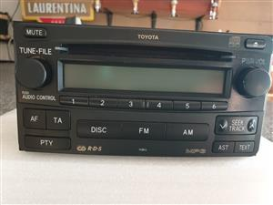 Toyota Fortuner Car Radio/CD