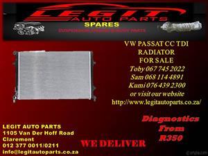 VW PASSAT CC TDI RADIATOR FOR SALE