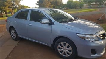 2012 Toyota Corolla 1.6 Advanced