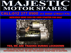 Mercedes benz c220 used starter for sale