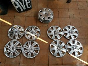 Vw Polo 14 inch wheel caps original Volkswagen