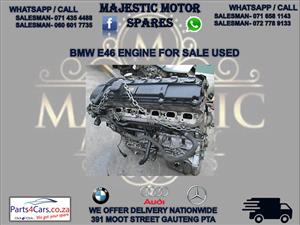 Bmw e46 engine for sale used