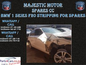 bmw f20 used spares for sale