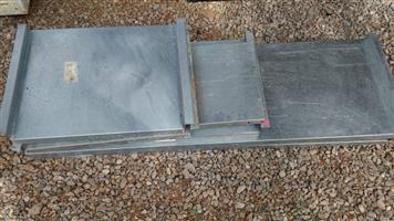 Steel hook on plates for sale