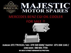 MERCEDES BENZ CGI OIL COOLER