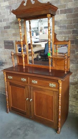 Satin Wood Dresser