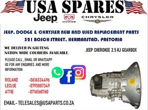 JEEP CHEROKEE 2.5 KJ GEARBOX (FOR SALE)