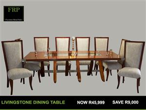 LVINGSTONE DINING TABLE FOR SALE