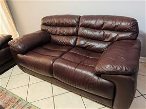 3 Piece Leather Couches (imports)