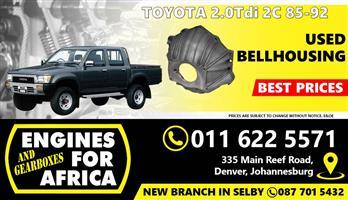 Used Toyota 2.0Tdi 2C 85-92 Bellhousing FOR SALE