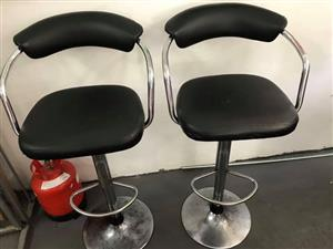 Bar Stools in decent over-all condition