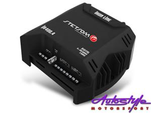 Stetsom Iron Line Micro Amplifier 100rms x 4 SMALLER SIZES AVAILABLE , browse our website for pricing, cheaper than this. Number of Channels 4 RMS Power at 2 Ohm 13.8V