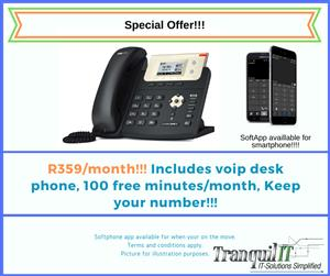 VOIP Phone and Number!!! Keep your Number!!! Save!!!