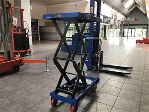 Manual/Electric scissor lift table/lift platform