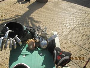 Golf putters/drivers and bags for sale