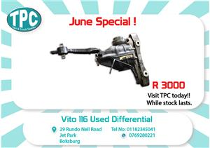 Mercedes Benz Vito 116 Used Diff for Sale at TPC