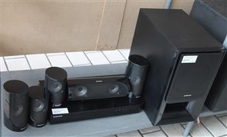 Samsung blu ray home theatre system 5.1 w/remote S032406A #Rosettenvillepawnshop