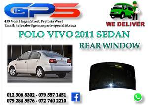 Used VW Polo Vivo 2011 Sedan Rear Window for Sale