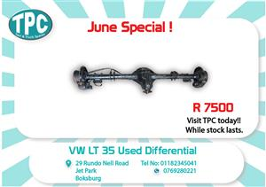 Volkswagen LT35 Used Diff for Sale at TPC