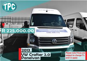 2013 VW Crafter