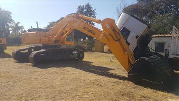 HYUNDAI 500LC-7  50 ton excavator