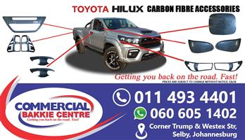 toyota hilux revo gd6 carbon fiber accessories